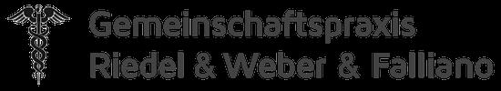 Gemeinschaftspraxis Riedel und Weber Logo